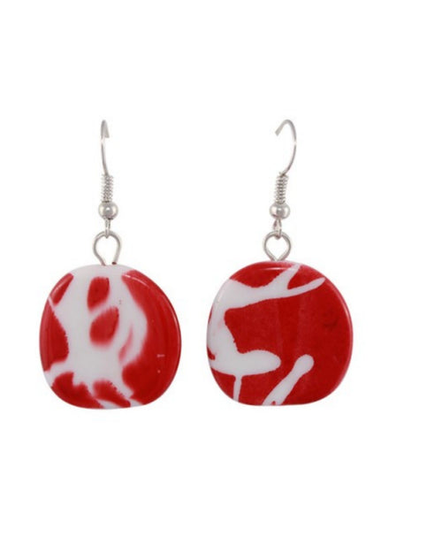 Jamaica Red Earrings