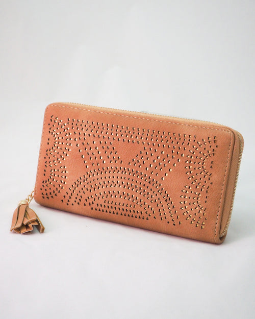 Tassle Purse - Tan