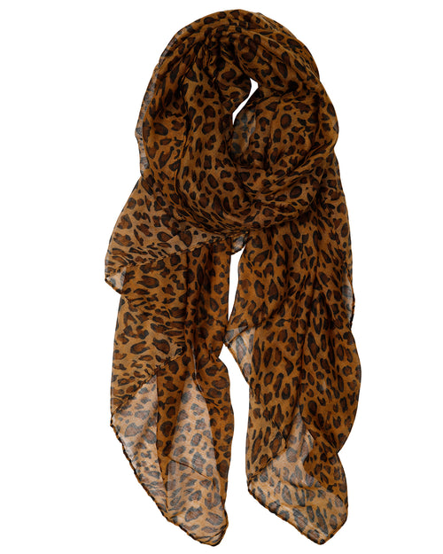 Animal Scarf - Tan