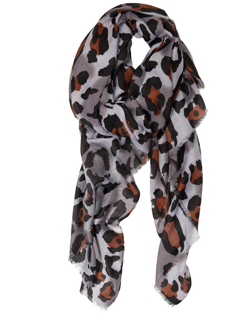Animal Scarf - Chocolate