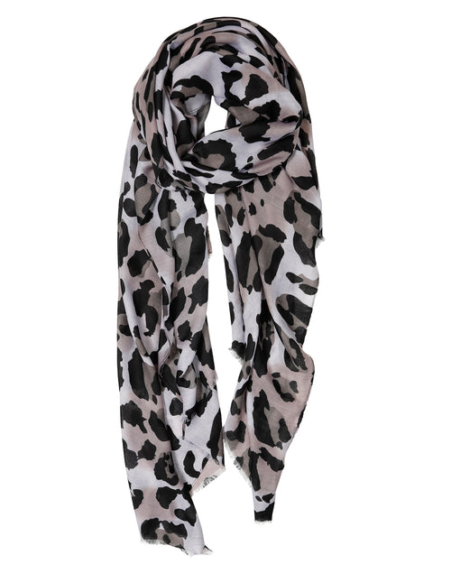 Animal Scarf - Grey