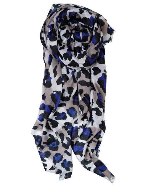 Animal Scarf - Blue
