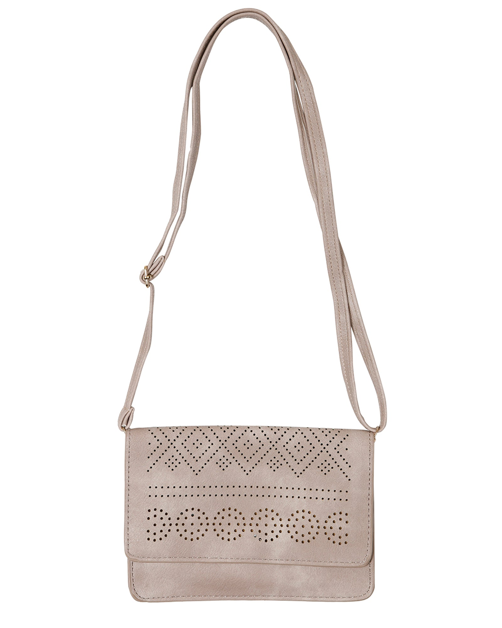Clutch /Shoulder Bag - Stone
