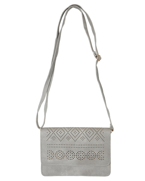 Clutch /Shoulder Bag - Grey