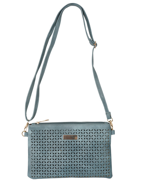 Stylish Clutch /Shoulder Bag -Denim