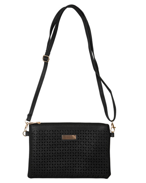 Stylish Clutch /Shoulder Bag - Black