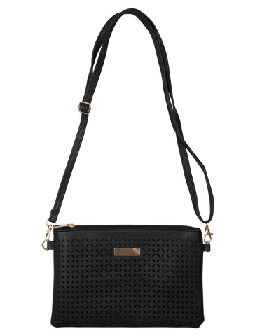 Stylish Clutch /Shoulder Bag - Charcoal
