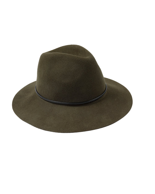 Khaki Felt Hat - Pre-order Delivery Mid April