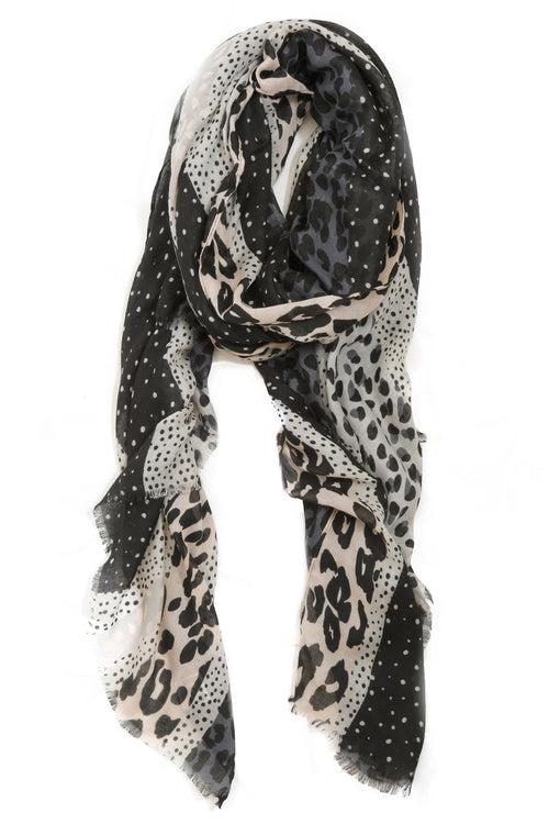 leopard print scarf, accessories, scarf, animal scarf