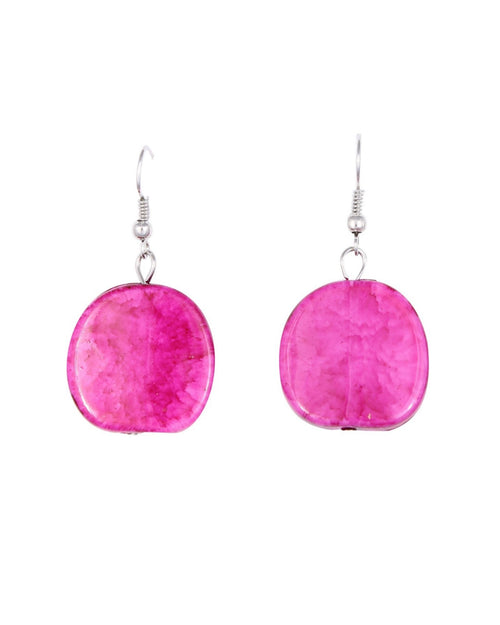 Riri Earrings -Pink