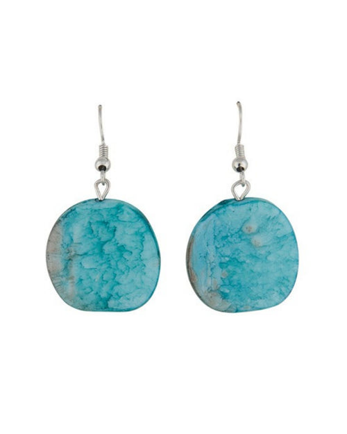 Riri Earrings -Aqua