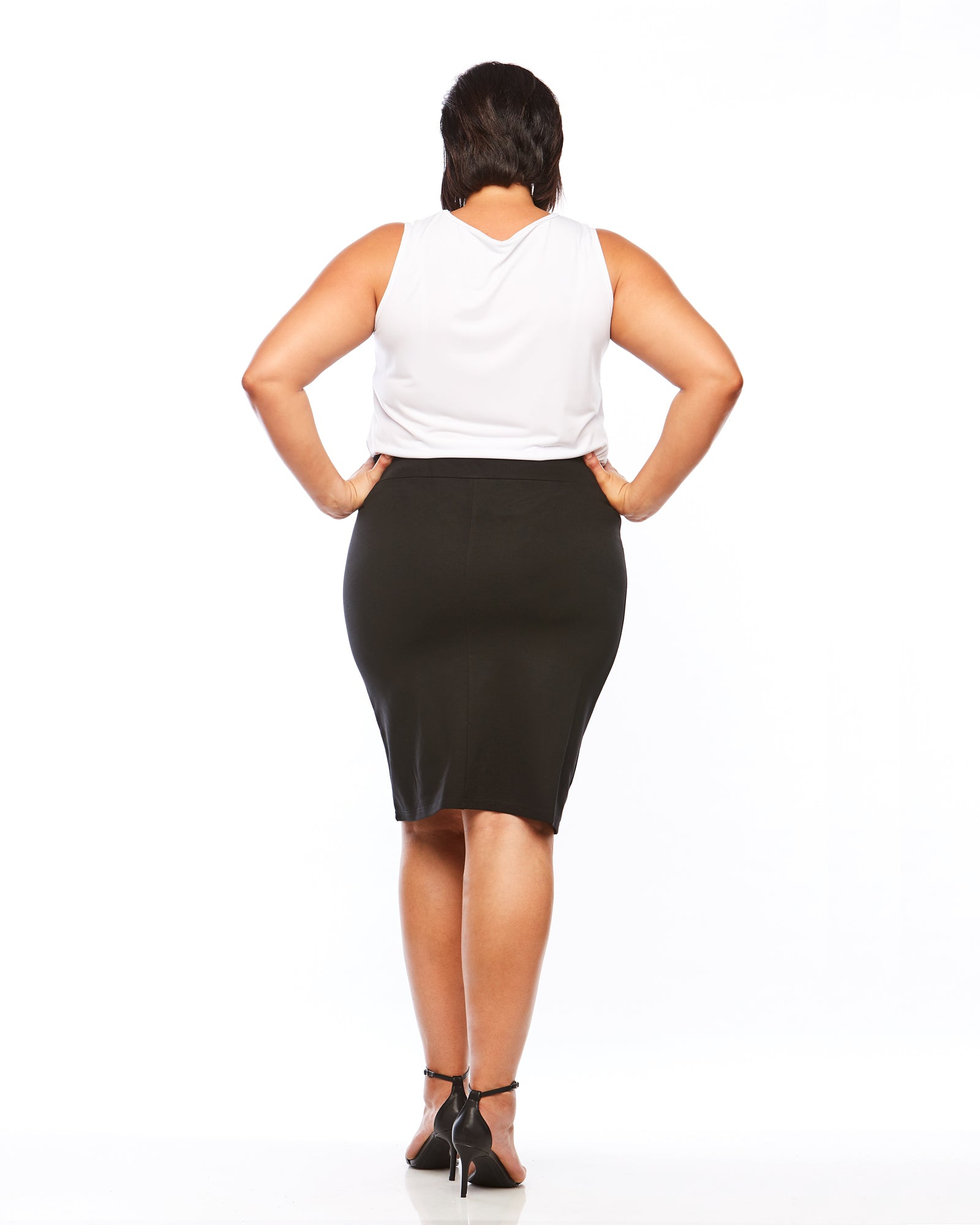 Room To Move ponte skirt, plus size ponte skirt, plus size skirt