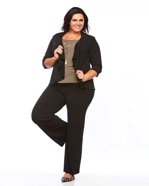 Room To Move Top, Latte Top, plus size top