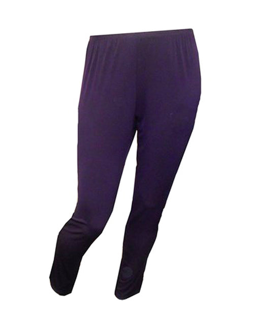 Straight Leg Pant- Purple size 14 only