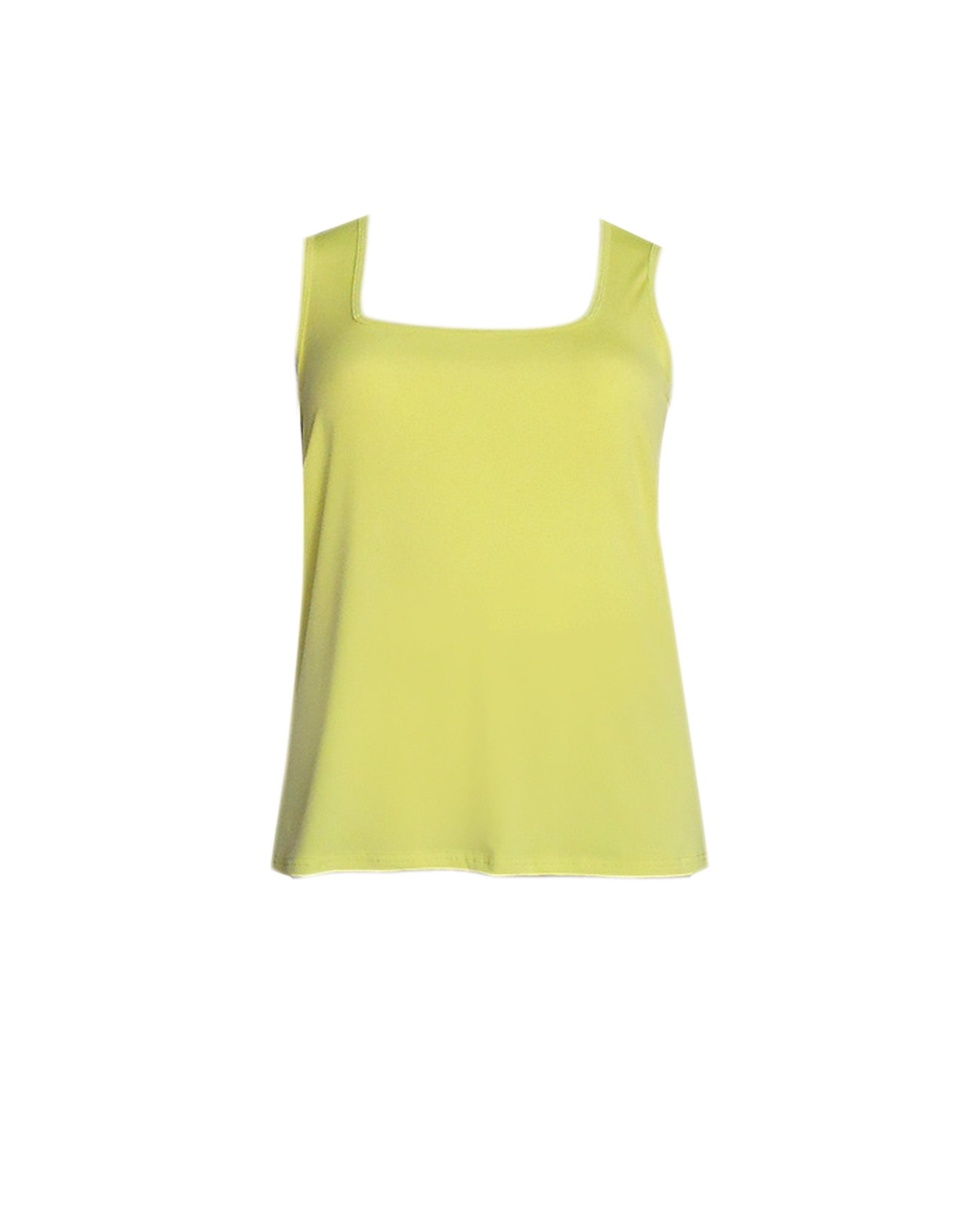 Square Neck Singlet - Lime - LAST ONE SIZE 16,18