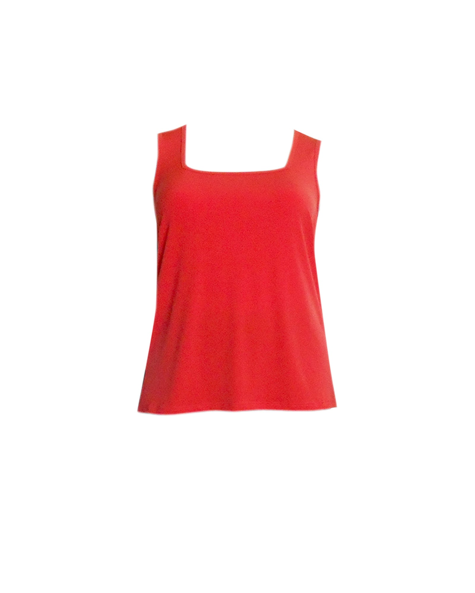 Square Neck Singlet - Orange
