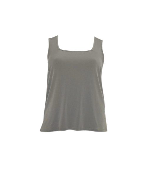 Square Neck Singlet -khaki