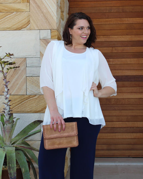 Linda 2 In 1 Tunic - Ivory