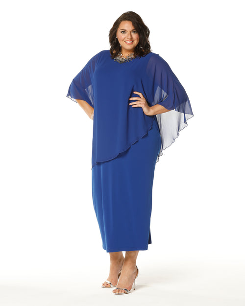 RTM Dress, Cobalt Evening dress, Plus size dresses Plus size evening dress, Occasion dresses, Plus size formal dresses, RTM, Blue Evening Dress