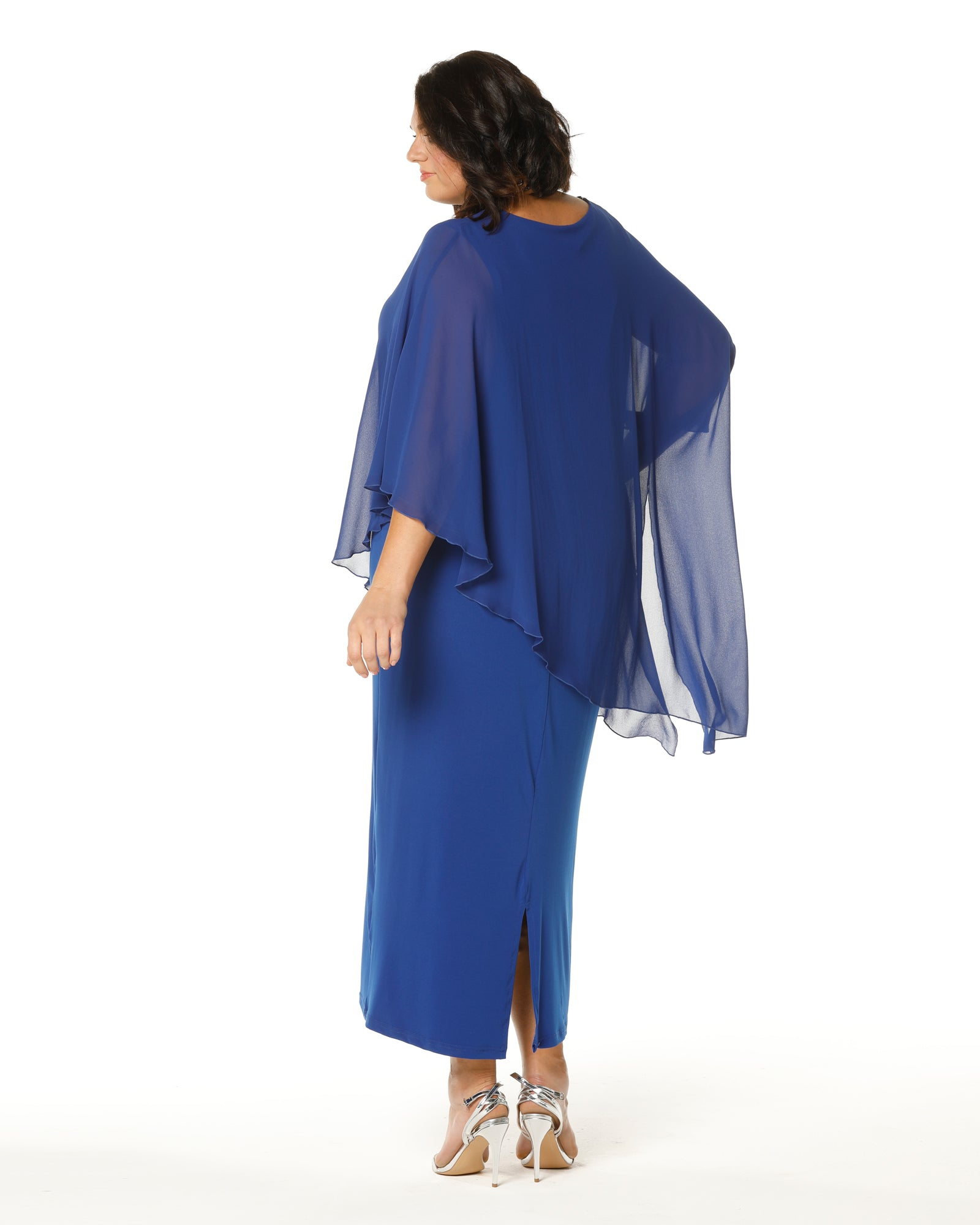 Plus size evening dress, Occasion dresses, Plus size formal dresses, RTM,  Cobalt Blue Evening Dress, RTM, Room To Move
