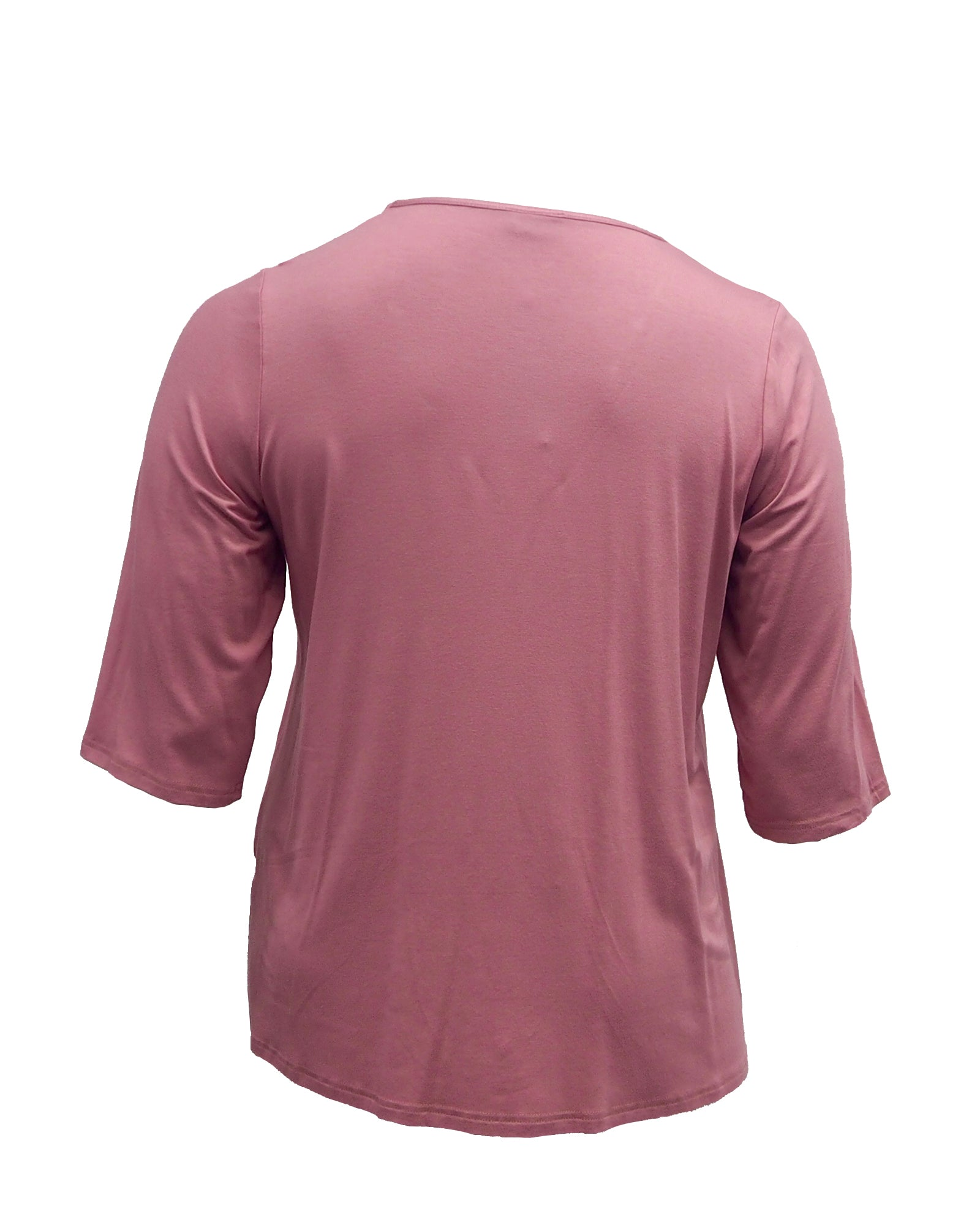 Plus size top pink