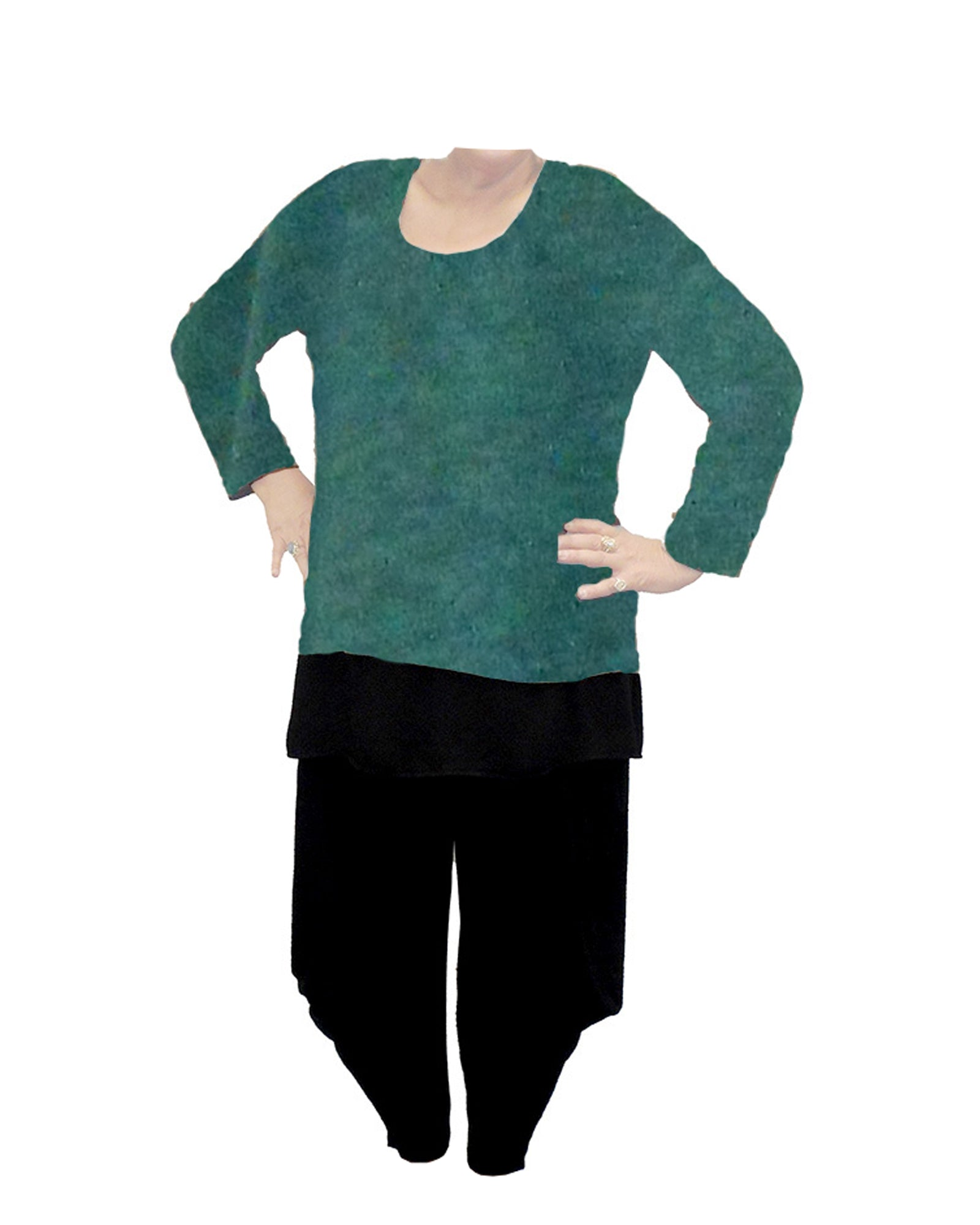 River Knit Jumper - Forest Green