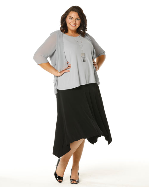 Linda 2 In 1 Tunic - Silver Grey - PRE ORDER END MARCH