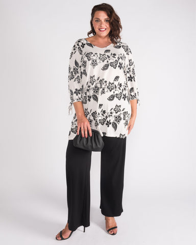 Amelia Kaftan Top  - Sizes 10-18