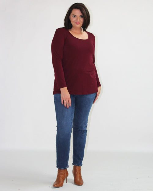 Long Sleeve Top - Port size 14,16 & 24