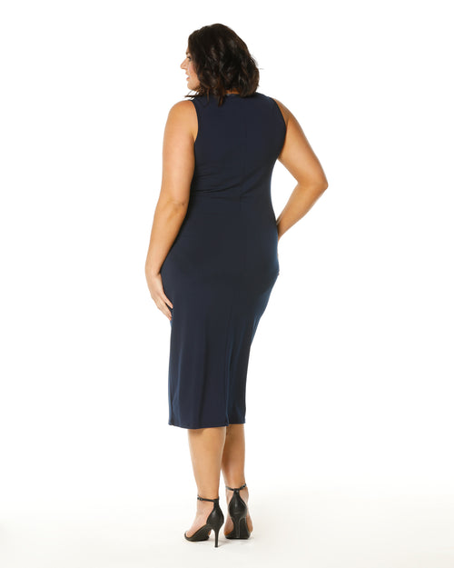 Roxanne Maxi Dress - Navy Size 12-26 PRE ORDER