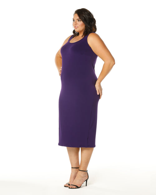 Roxanne Dress -Purple size 12,14,18,20,22