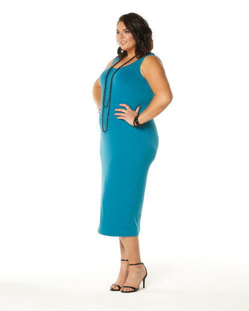 Roxanne Soft Maxi Dress -Teal