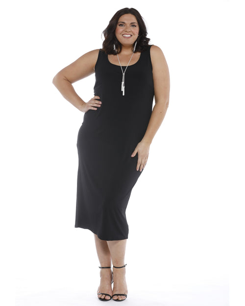 Roxanne Dress - Black -PRE ORDER Size 26