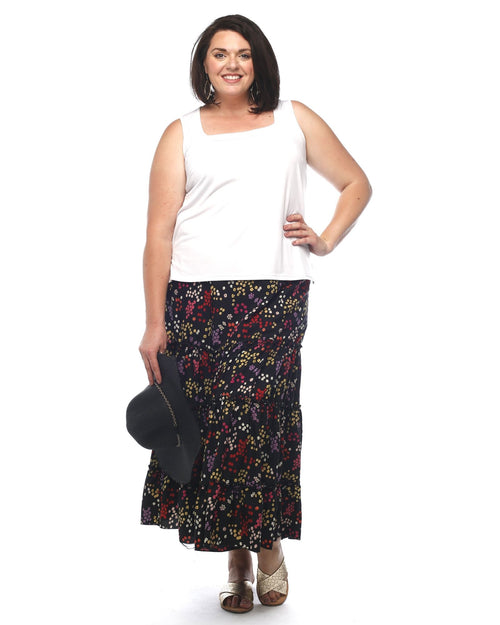 Sarah Gathered Frill Skirt
