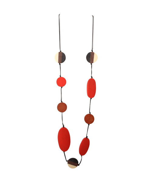 Rowlee Necklace Red