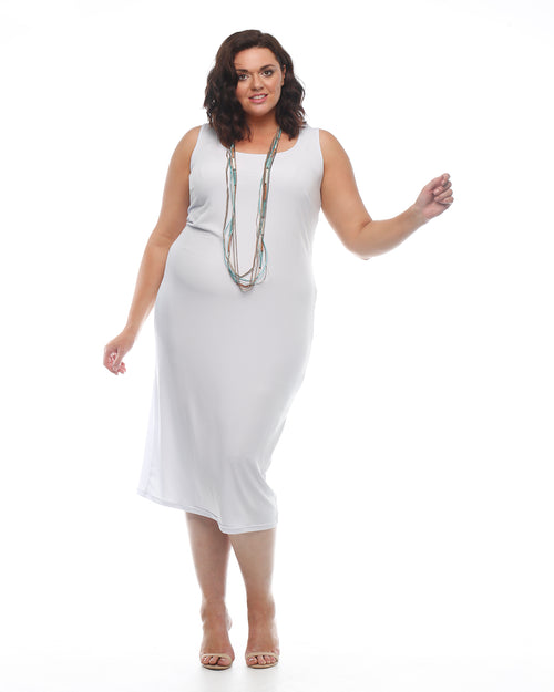 Roxanne Dress - White Size 12-26