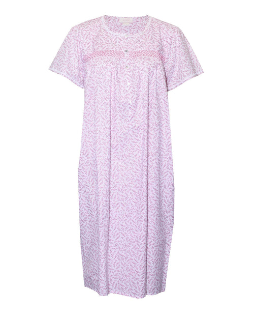 Rebecca Short Knit Nightie-Pink