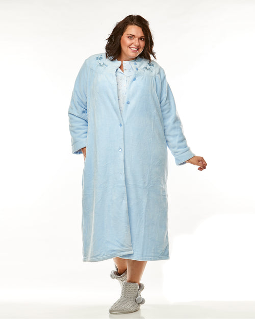 Patrice Knit Nightie-Blue