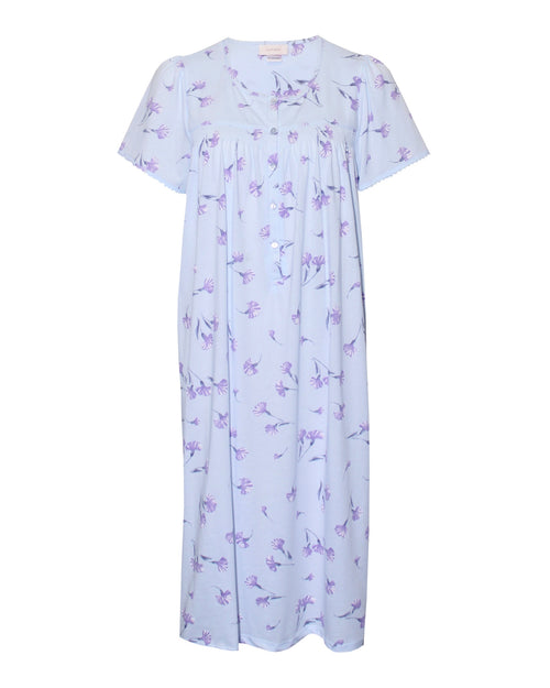 Faith Nightie - Blue