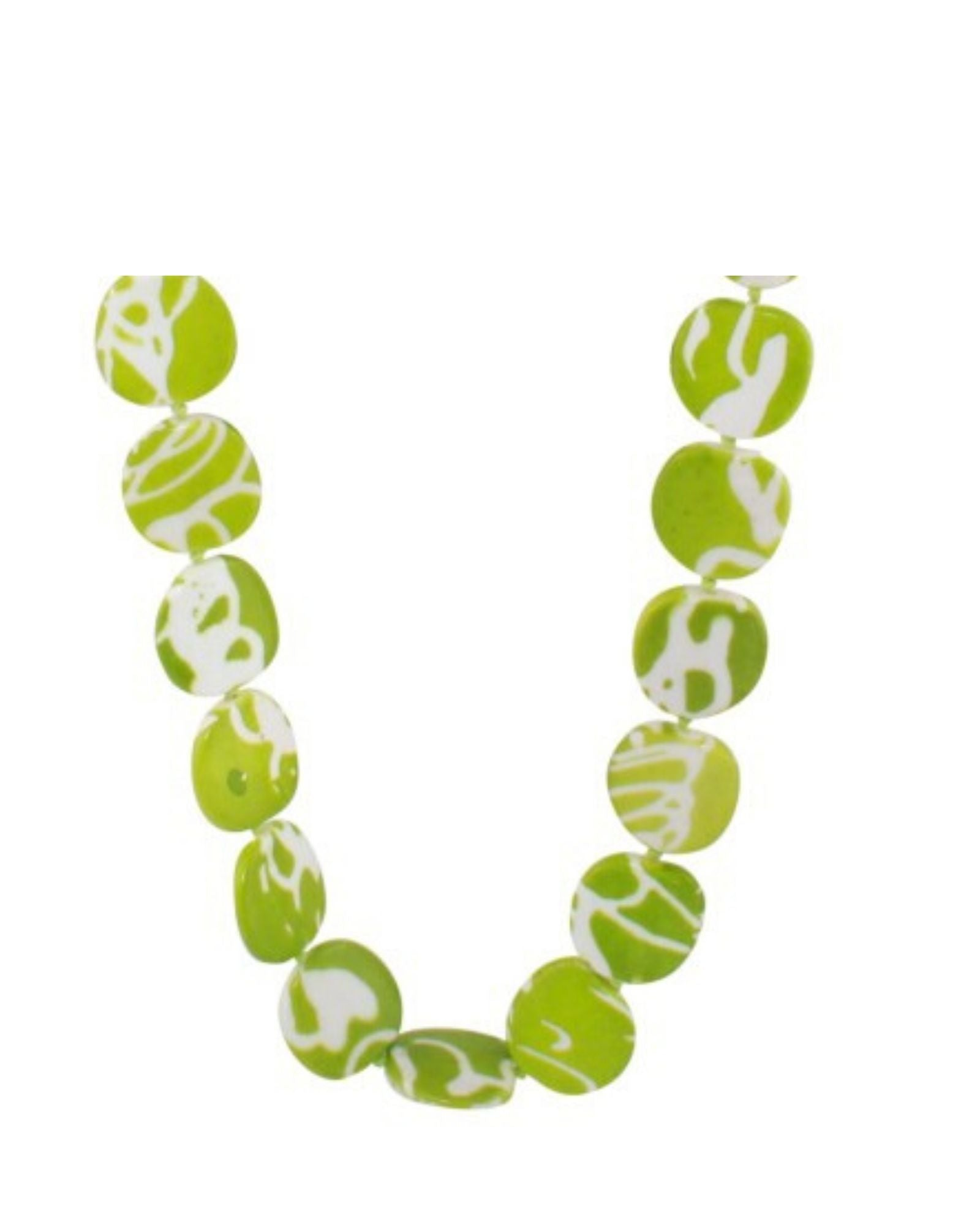 Jamaica Necklace Mix And Earrings Set  -Green- save $5.00