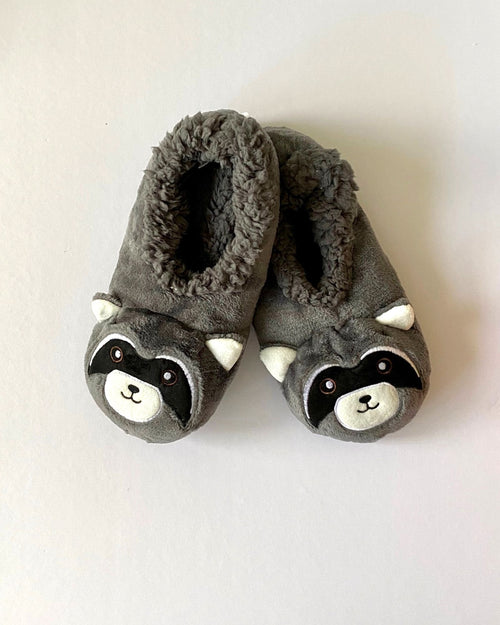 Cosy Fur Washable Slippers - Panda Size S & M