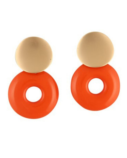Hayden earrings - Orange