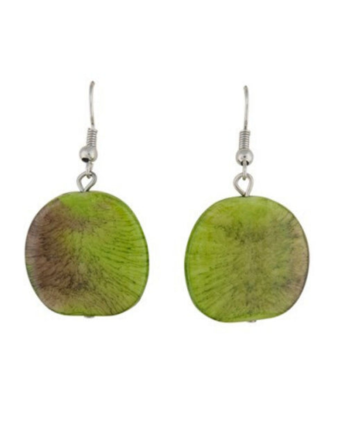 Riri Earrings -Green