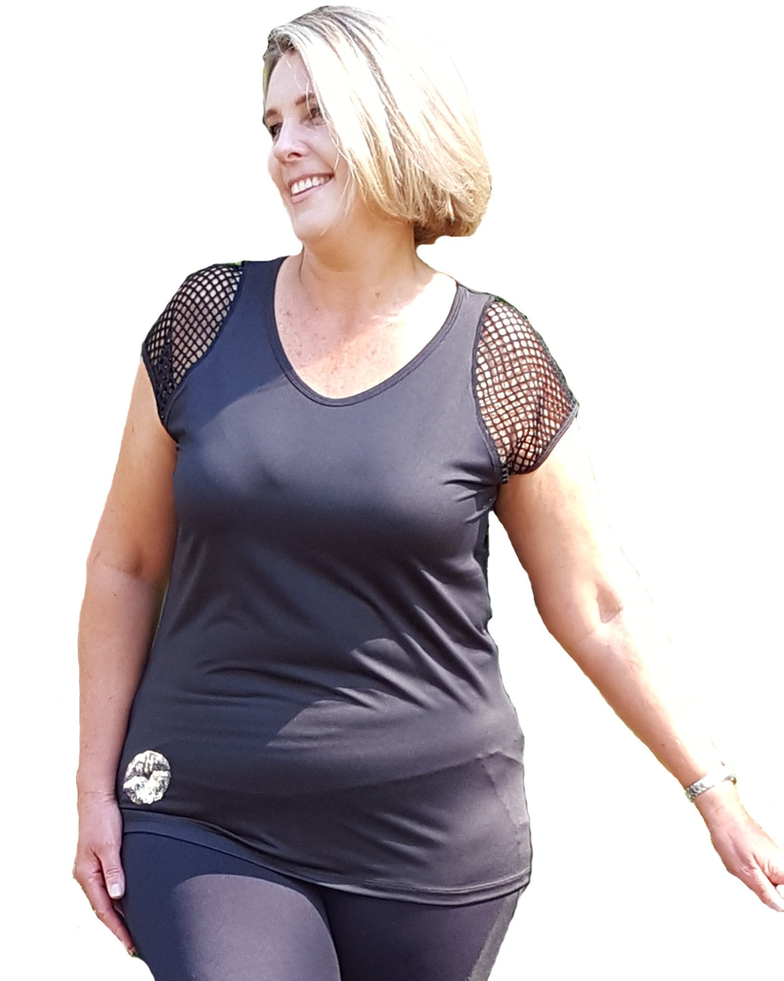 Cabarita Smile | Plus Size Actileisure and Sports Top