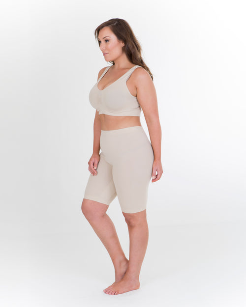 Anti Chafing Shorts - Long Leg - Nude