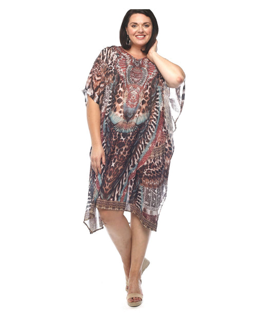 Animal Kaftan -Long