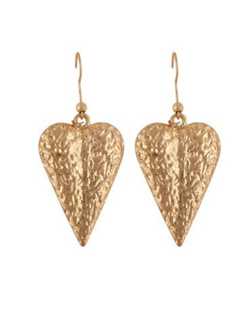 Kenaz Earrings - Gold
