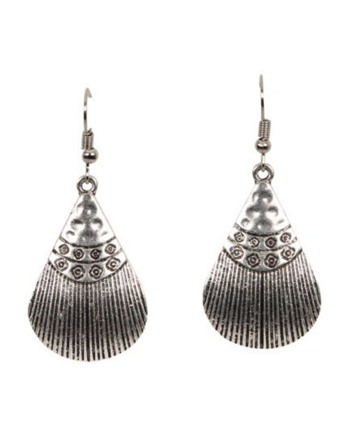 Luxor Earrings Shell Silver