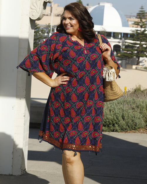 Lula Soul, Embroidery dress, plus size dresses
