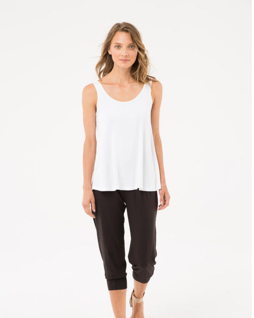 Bamboo Crop Summer Slouch  Pant- 10-22